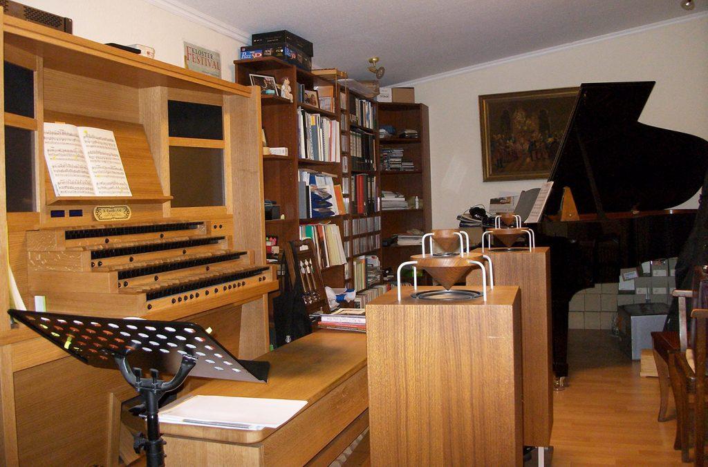 Unterricht Orgel und Klavier