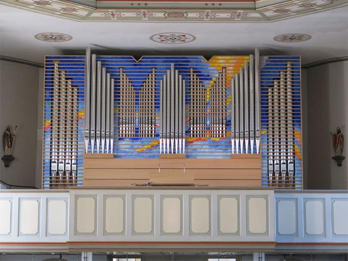 Kampherm Orgel St. Maria Immaculata Kaunitz
